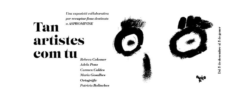 ASPROMIVISE CONMEMORA EL SEU 50 ANIVERSARI: Inicia els actes amb una exposició de pintura