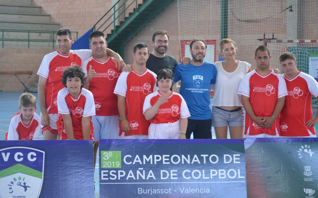 ASPROMIVISE PARTICIPA AL COMPIONAT D'ESPANYA DE COLPBOL DISPUTAT A VALÈNCIA I BURJASSOT
