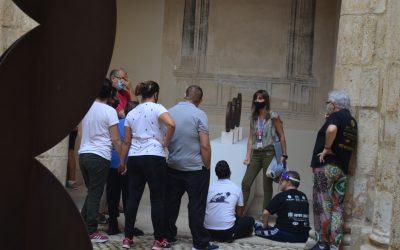 ASPROMIVISE VISITA L'EXPOSICIÓ D'ANDREU ALFARO